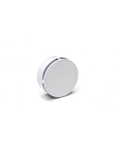 Dampfauslass weiß rund