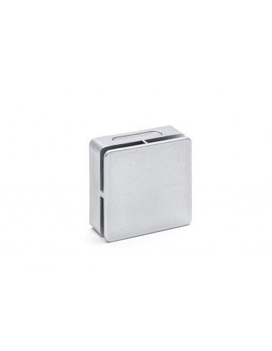 Dampfauslass silber quadratisch